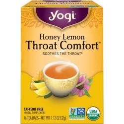Yogi Tea Honey Lemon Throat Comfort 16 Tea Bags