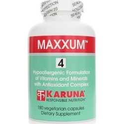 Karuna Maxxum 4 Multivitamin and Mineral with Antioxidant Complex 180 Veg Capsules