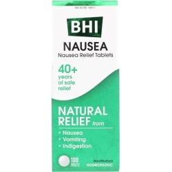 BHI Nausea Relief Tablets 100 Tablets