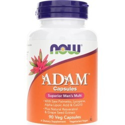 NOW Foods Adam Capsules Superior Men's Multi 90 Veg Capsules