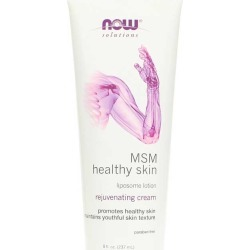 NOW Foods MSM Healthy Skin Lipsome Lotion 8 Oz