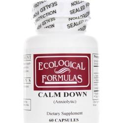 Ecological Formulas Calm Down 60 Capsules