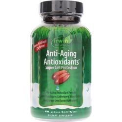 Irwin Naturals Anti-Aging Antioxidants 60 Liquid Softgels