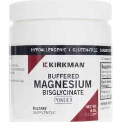 Kirkman Buffered Magnesium Bisglycinate Powder 4 Oz