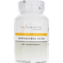 Integrative Therapeutics Resveratrol Ultra 60 Veg Capsules