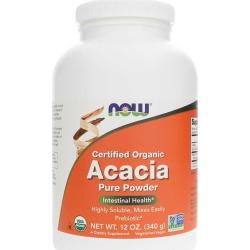 NOW Foods Acacia Fiber Pure Powder Organic 12 Oz