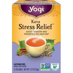 Yogi Tea Kava Stress Relief Tea 16 Tea Bags