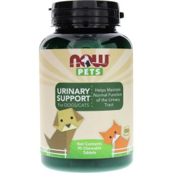 NOW Foods Urinary Support for Dogs/Cats 90 Chewable Tablets
