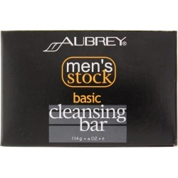 Aubrey Organics Men's Stock Basic Cleansing Bar 1 Bars