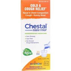 Boiron Chestal Cold & Cough Syrup 6.7 Oz