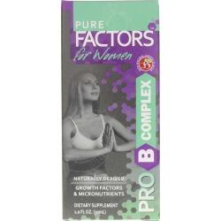Pure Solutions Pure Factors for Women Pro B Complex 1 Oz
