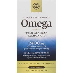 Solgar Full Spectrum Omega 120 Softgels