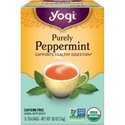 Yogi Tea Purely Peppermint Tea 16 Tea Bags