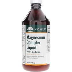 Genestra Magnesium Complex Liquid Tart Berry Flavor 15.2 Oz