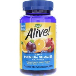 Natures Way Alive Men's Gummy Vitamins 75 Gummies