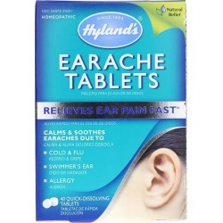 Hylands Earache Tablets 40 Tablets