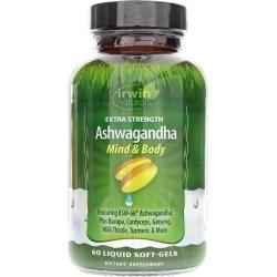 Irwin Naturals Extra Strength Ashwagandha 60 Liquid Softgels