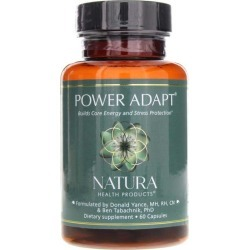 Natura Health Products Power Adapt 60 Capsules