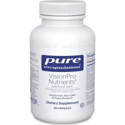Pure Encapsulations VisionPro Nutrients without Zinc 90 Capsules