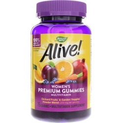 Natures Way Alive Women's Gummy Vitamins 75 Gummies