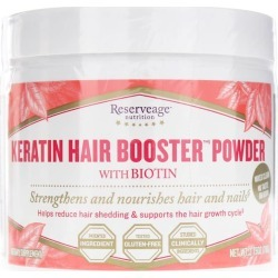 Reserveage Nutrition Keratin Hair Booster Powder 2.75 Oz