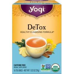 Yogi Tea Detox Tea 16 Tea Bags