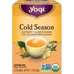 Yogi Tea Cold Season Tea 16 Tea Bags