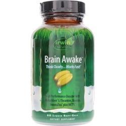 Irwin Naturals Brain Awake 60 Liquid Softgels