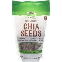 NOW Foods Organic Chia Seeds 12 Oz