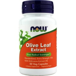 NOW Foods Olive Leaf Extract 50 Veg Capsules