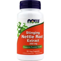 NOW Foods Stinging Nettle Root Extract 250 Mg 90 Veg Capsules