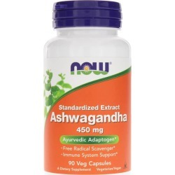 NOW Foods Ashwagandha Standardized Extract 450 Mg 90 Veg Capsules