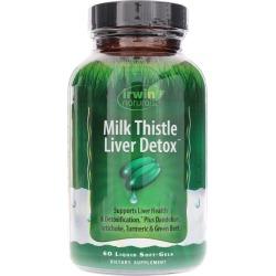Irwin Naturals Milk Thistle Liver Detox 60 Liquid Softgels