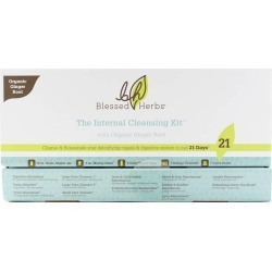 Blessed Herbs Internal Cleansing Kit Ginger 1 Kit