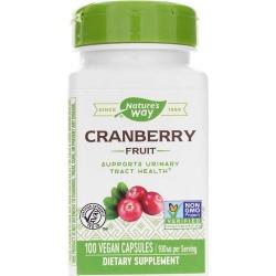Natures Way Cranberry Fruit 100 Veg Capsules