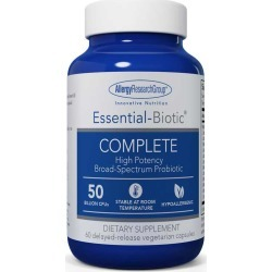 Allergy Research Group Essential-Biotic Complete Formula Probiotic 50 Billion CFU 60 Veg Capsules