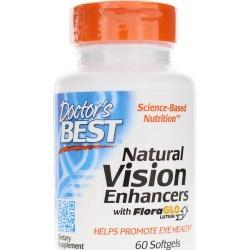 Doctors Best Natural Vision Enhancers 60 Softgels