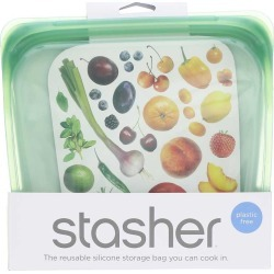 Stasher Reusable Silicone Sandwich Bag 1 Bags found on Bargain Bro Philippines from natural healthy concepts for $12.99