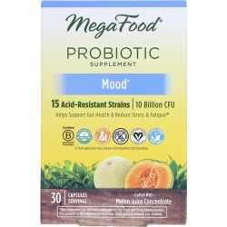 Megafood Mood Probiotic 10 Billion CFU 30 Capsules found on Bargain Bro Philippines from natural healthy concepts for $29.19