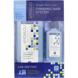 Andalou Naturals Argan Stem Cell Thinning Hair System, Age Defying Formula 3 Piece(s)