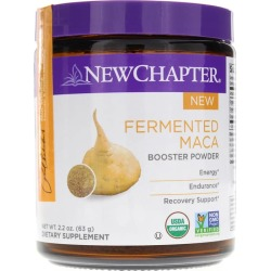 New Chapter Fermented Maca Booster Powder Organic 2.2 Oz