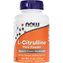 NOW Foods L-Citrulline Pure Powder 4 Oz