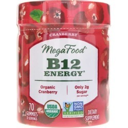 Megafood B12 Energy Gummies Cranberry 90 Gummies found on Bargain Bro Philippines from natural healthy concepts for $16.49
