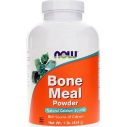NOW Foods Bone Meal Powder 1 Lbs