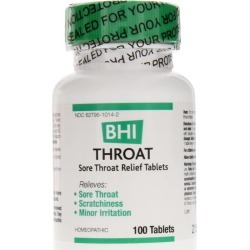 BHI Sore Throat Relief Tablets 100 Tablets