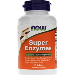 NOW Foods Super Enzymes Tablets 90 Tablets