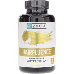 Zhou Nutrition Hairfluence Premium Hair Growth Formula Capsules 60 Veg Capsules