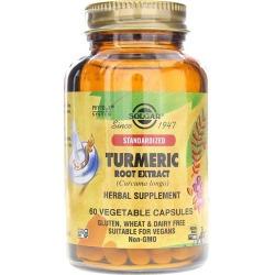 Solgar Turmeric Root Extract 60 Veg Capsules