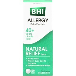 BHI Allergy Relief Tablets 100 Tablets