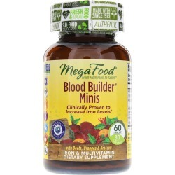Megafood Blood Builder Minis 60 Tablets found on Bargain Bro Philippines from natural healthy concepts for $16.17